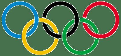 Логотип летних олимпийских колец